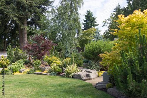 Keuken foto achterwand Tuin Backyard Landscaping