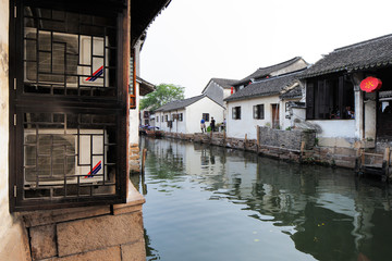 Zhouzhuang in China is known as the Venice of the East