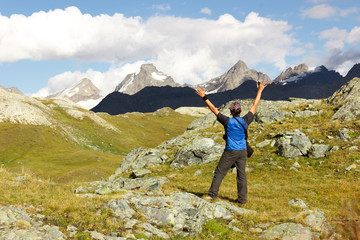 Felicità in montagna