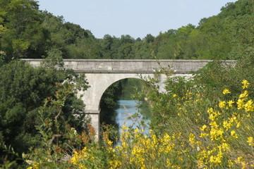 Charente-Maritime - Dompierre sur Mer Pont canal de Marans