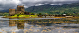 Panoramic of Eilean Donan Castle, Highlands, Scotland