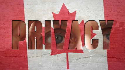 Spying Eyes Crumbling Wall Canada