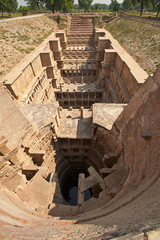 Rav-Ki-Vav Stepwell at Patan in India