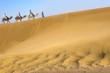 Travel in sahara dunes