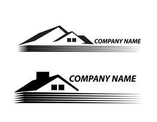 House logo  very detailed and expressive Real Estate
