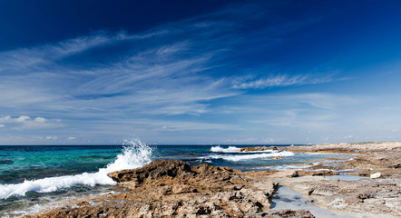 Coast of Mallorca