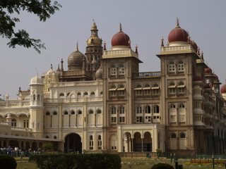 Palacio Real de Mysore en India