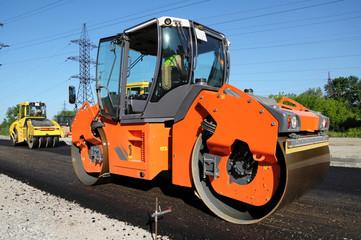 Orange rolling machinery side