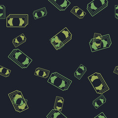 seamless background: money