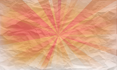 background of crumpled paper with pattern