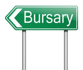 Bursary concept.