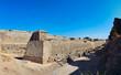 Medieval castle external wall, Rhodes town, Greece
