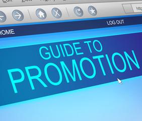 Promotion concept.