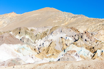 Artist's Palette in Artist's Drive, Death Valley National Park,
