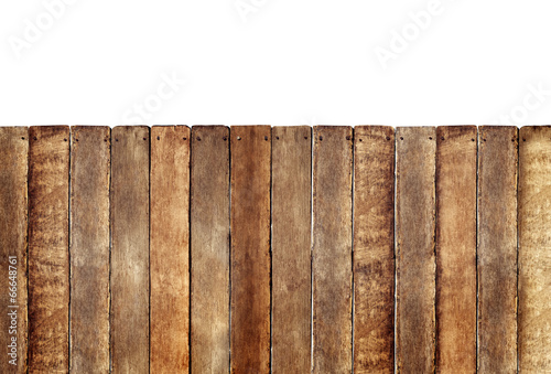 Fotobehang Hout Wooden Fence