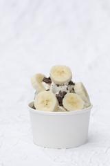 Frozen Joghurt Banane