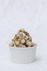 Frozen Joghurt Nuss