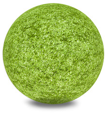 boule d'herbe synthétique