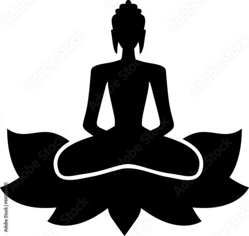 Buddha in lotus