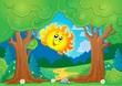 Tree theme with sun 1