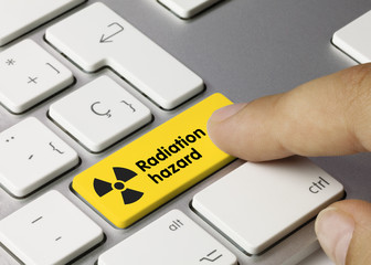 Radiation hazard. Keyboard