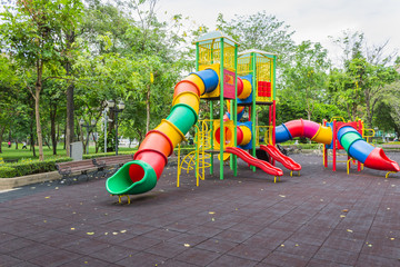 Playground at public park