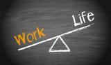Work and Life Imbalance poster