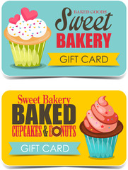 Bakery gift cards