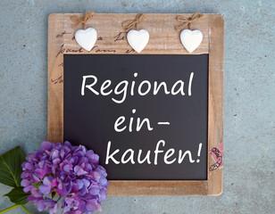 Tafel Regional einkaufen!