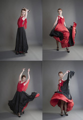 flamenco collage