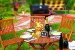 Outdoor Dining Scene - 66656355