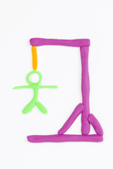 Hangman game.
