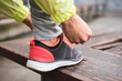 City runner lacing sport footwear