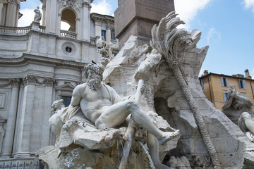 Fountain in Rome