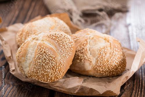Foto op Aluminium Brood Sesame Buns