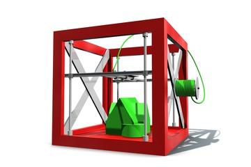3D printer maakt huis