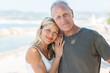 glückliches älteres paar im urlaub