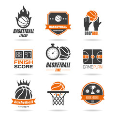 Basketball icon set - 2