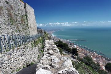 Salerno - Veduta panoramica dal Castello Medioevale Arechi