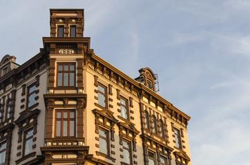 Jugendstil Fassade in Hamburg