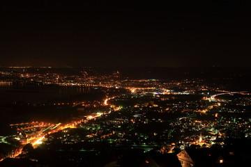 Lindau bei Nacht