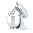Opened Blue stand mixer - 66663394