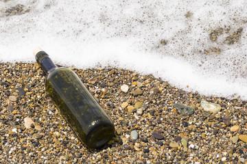 ボトルと波