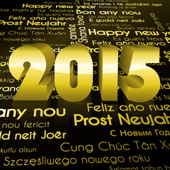 Black Gold New Year 2015
