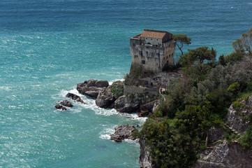 Salerno - Costiera Amalfitana con Rocca Torre di Controllo
