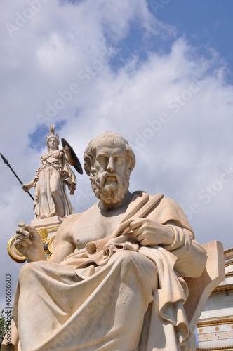 Papiers peints Statue Platon et Athena
