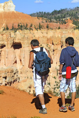 randonnée à rainbow Point, Bryce Canyon