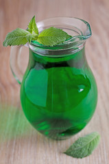 mint syrup