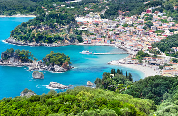 Parga town Greece