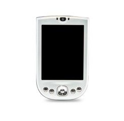 Pocket PC isolated on white background